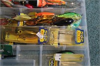 Fishing lures (Hot n'tots, Bobbers, Flicker....)