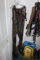 Proline Fishing waders size 8