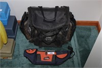 2pcs. FLW fly fishing case & tackle bag
