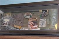 fishing decor (shadowbox, tin sign, etc)