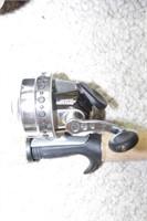 Fishing Rods: Berkley cherrywood w/reels