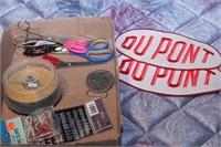 DuPont patches, scissors &clips