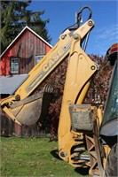 Case 580L Turbo Series 2 Extendahoe Backhoe