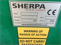 2020 Sherpa 100 Electric Mini Skid Steer
