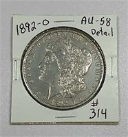 October 17th. Online-only coin & token auction.