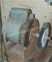 Custom bench wheel grinder
