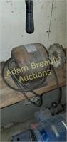 Custom bench wheel buffer / grinder