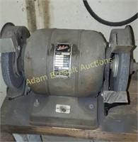Vintage Packard dual wheel 1/4 hp grinder