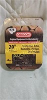 Oregon 20in H78 chainsaw chain, new