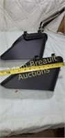 2 lawn mower chute covers, new