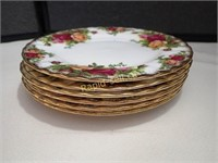 Old Country Roses Side Plates