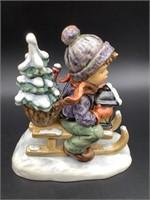 Hummel Ride Into Christmas #396/1 Figurine