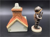 Hummel Chimney Sweep & Roof Top Display Stand