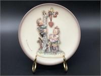 Mini Hummel Plate Here's My Heart HUM 898