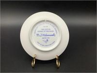 Mini Hummel Plate Strike Up The Band HUM 895