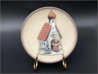 Mini Hummel Plate Chapel Time HUM 886