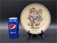Hummel Plate 1977 Annual Plate HUM 270
