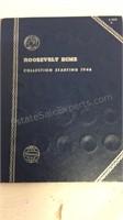 Roosevelt Dime Collection 1946+ - Partially