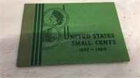 United States Small Cents 1857-1909 - Partially