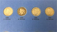 Liberty Head Nickel Collection 1883-1913