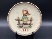 Hummel Plate 1991 Annual Plate HUM 287