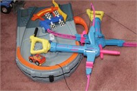 Nerf Bows & Playschool race track