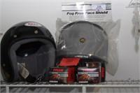 Bell motorcycle helmet (M)  & accessories
