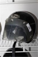 Arial Size M Motorcycle helmet w/ shield