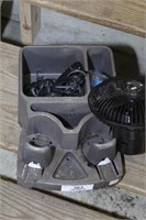 Console cup holder & 12v  fan