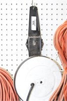 Hanging retractable extension cord