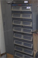 5' roller drawer cabinet w/ removable trays