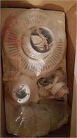 Metal tool box & Ceiling fan
