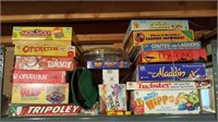 board games - 18 games