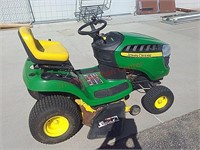 "John deere d100 riding lawn mower, 17.5 hp, 42"""