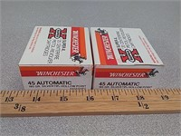 40 rds 45 auto ammo ammunition