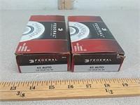 100 rds 45 auto ammo ammunition