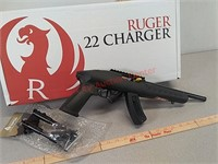 New Ruger charger 22 LR pistol handgun with