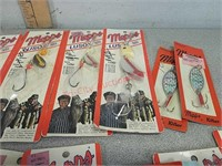 New vintage MEPS fishing lures and more