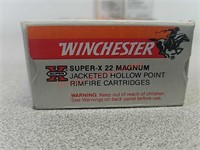 300 rounds 22 mag jhp Winchester ammo ammunition