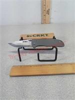 NIB CRKT folding lock blade pocket knife drifter