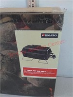 """New BBQ pro 17"""" table top gas grill"""