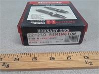 22-250 rem 2 pc reloading die set