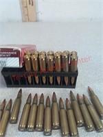 38rds Hornady & other 222rem ammo ammunition