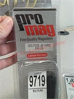 3 Pro Mag Sig p229 .40cal 10 rd pistol gun mags