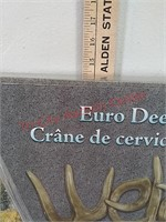 New Euro deer welcome sign