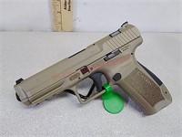 New Canik TP9SA 9 mm pistol handgun with (2) 18