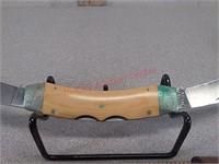 Vintage case xx Texas lockhorn double blade