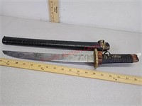 Antique sword with sheath