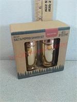 New ceramic bullet salt and pepper shaker set
