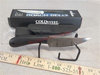 New Cold Steel roach belly knife with plastic
